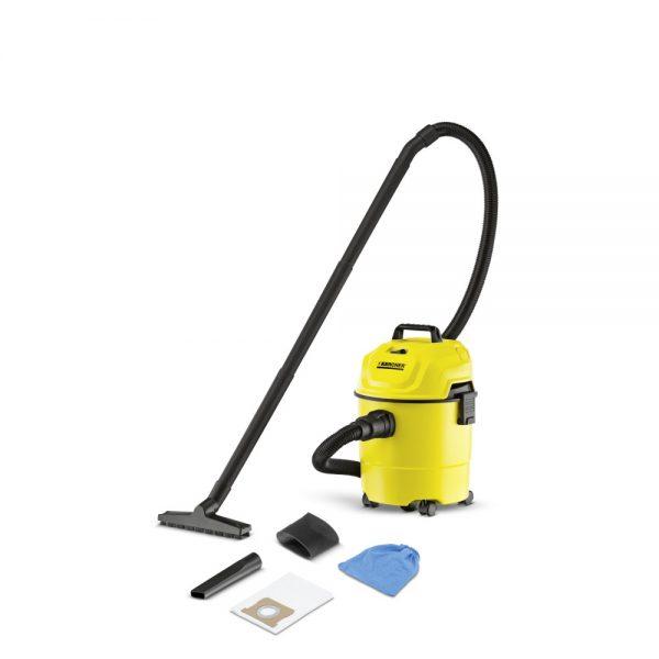 Aspiradora seco y húmedo con bajo consumo de energía de 1200 W.