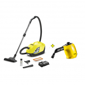 Combo Karcher Aspiradora DS 5800 + Limpiadora a Vapor SC 1