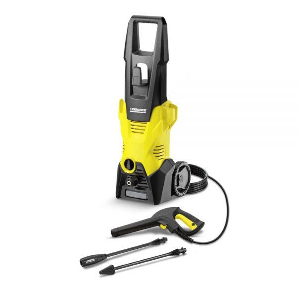 Dile adiós a la suciedad con la Hidrolavadora Karcher K3 MX. Con pistola Quick Connect y manguera de 6 m ideal para limpieza efectiva en el hogar.