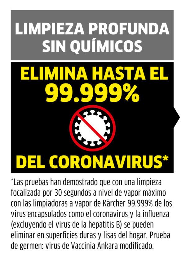 Limpiadora a vapor que elimina 99.9% de las bacterias sin usar químicos